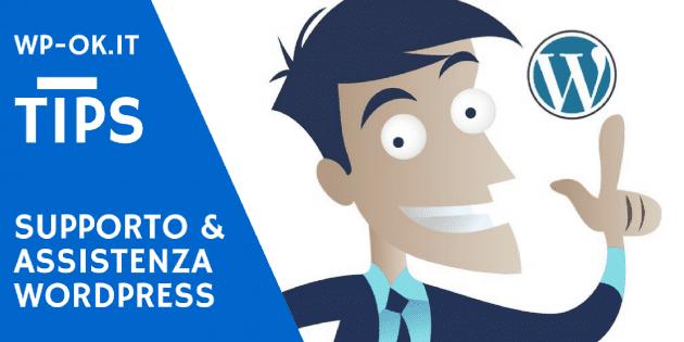 Supporto e Assistenza WordPress