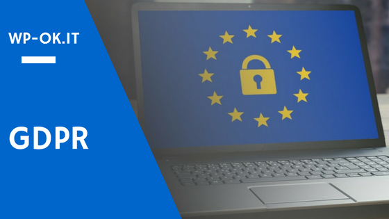 GDPR per WordPress